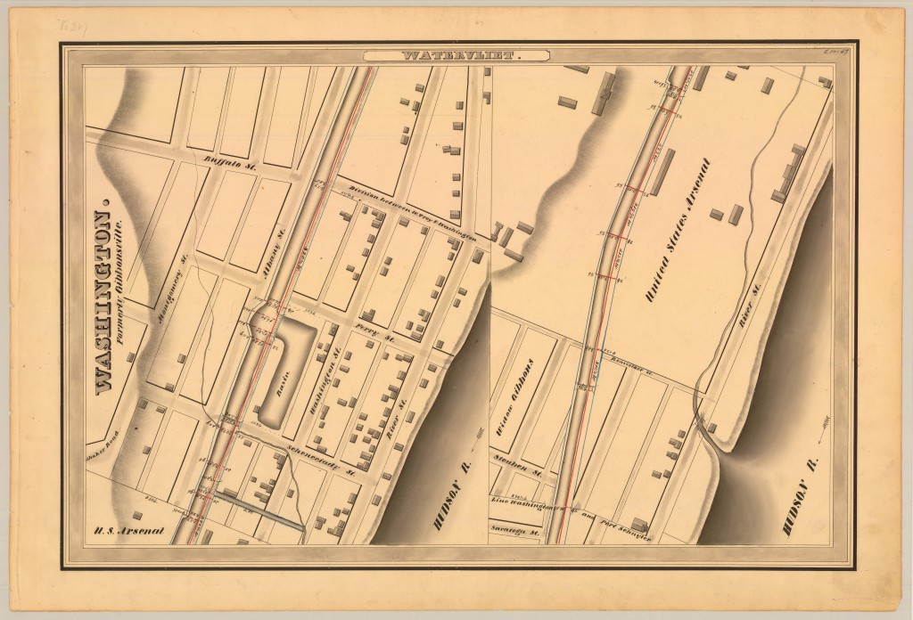1834 Erie Canal Watervliet