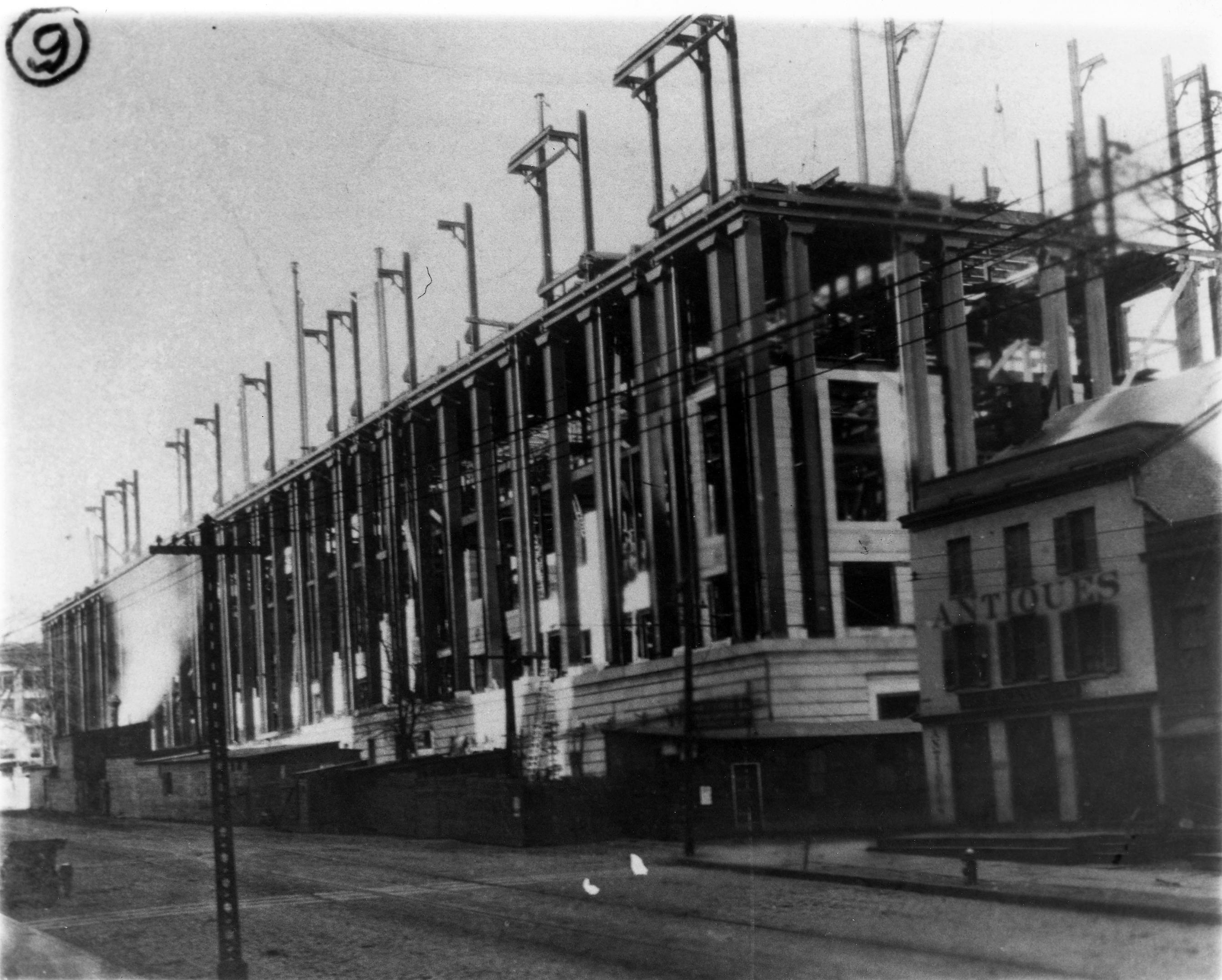 The State Education Building Under Construction – Hoxsie!