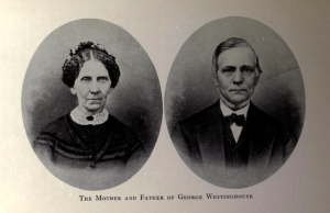 Emmaline and George Westinghouse, Sr.