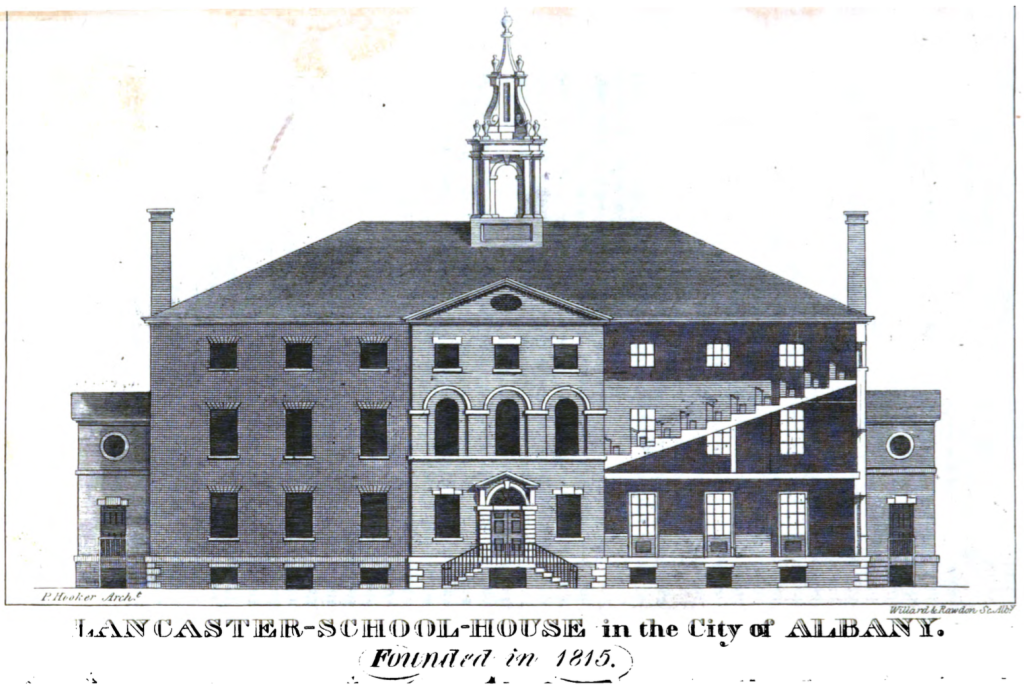 Albany's Lancaster School on Eagle Street