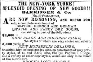 Barringer's ad
