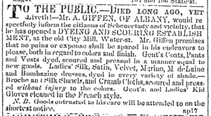 Died Long Ago - A Giffen Albany