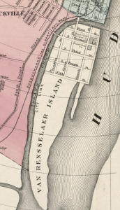 Van Rensselaer Island 1874