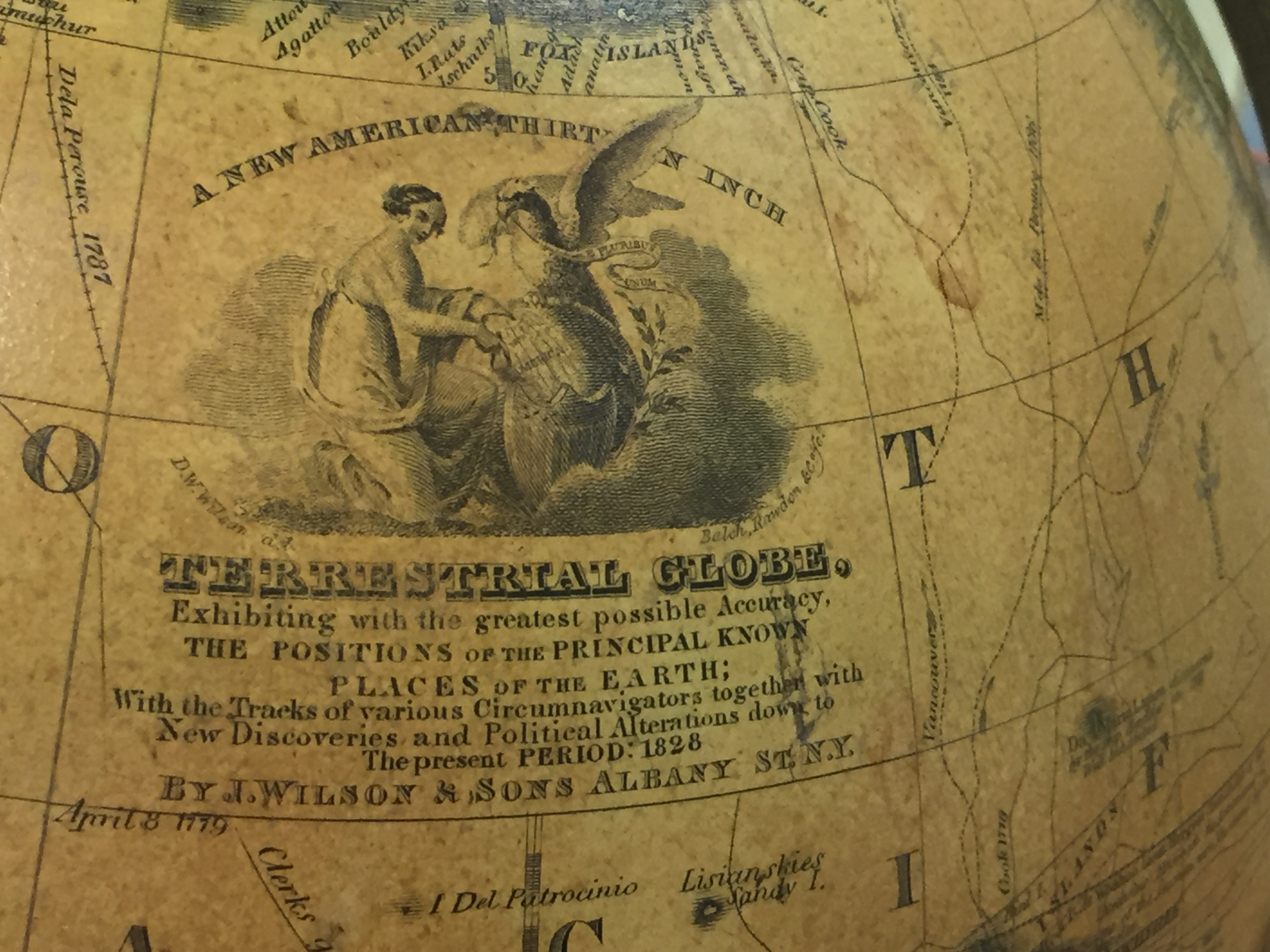 Albany Home Of Nearly The First Globe Manufactory In The