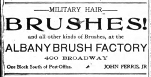 Military Hair Brushes