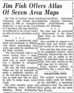Jim Fisk Maps