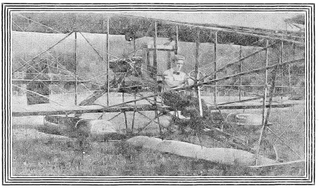 Glenn Curtiss in his Albany Flyer