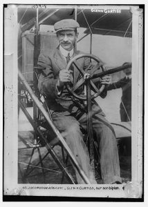 Glenn Curtiss in France
