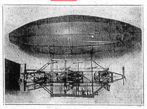 Tinker's airship 1911