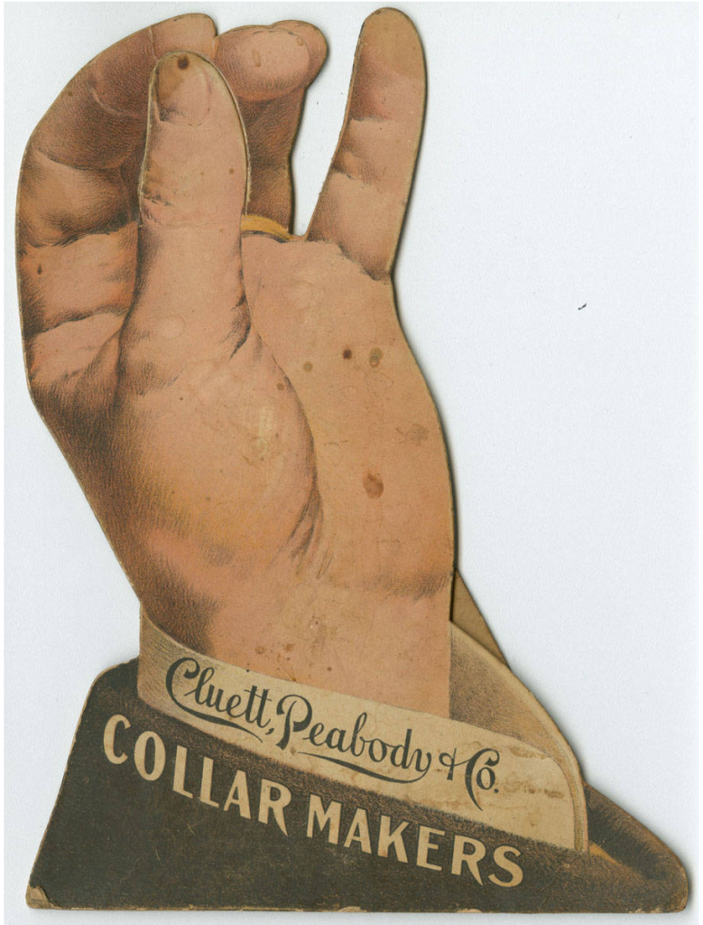 Cluett, Peabody display card