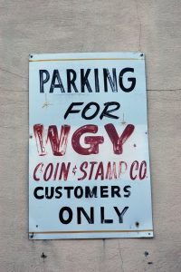 WGY Coin & Stamp Co.
