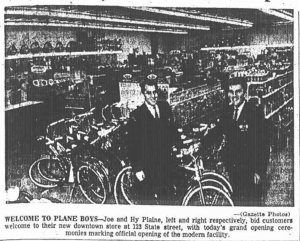 Plane Boys Grand Opening 1963