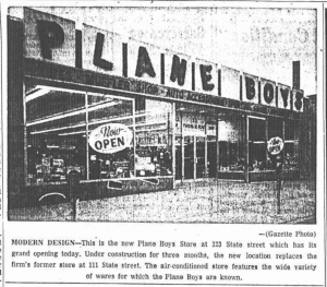 Plane Boys Grand Opening 2 1963