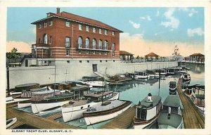 Yacht club postcard 1930s 10969737414_461b3f793b_o