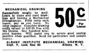 Albany Institute Mechanical Drawing