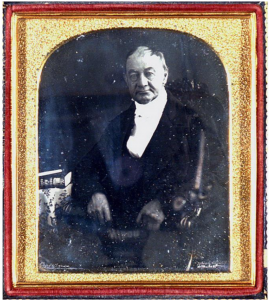 Daugerrotype of William Jay by RE Churchill