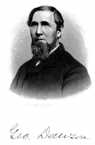 George Dawson portrait, from A Collection of Family Records