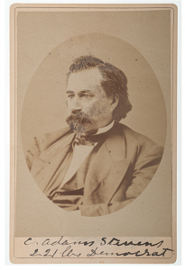 C. Adams Stevens, by Rensselaer Churchill