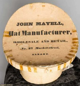 John Mayell Hat Box