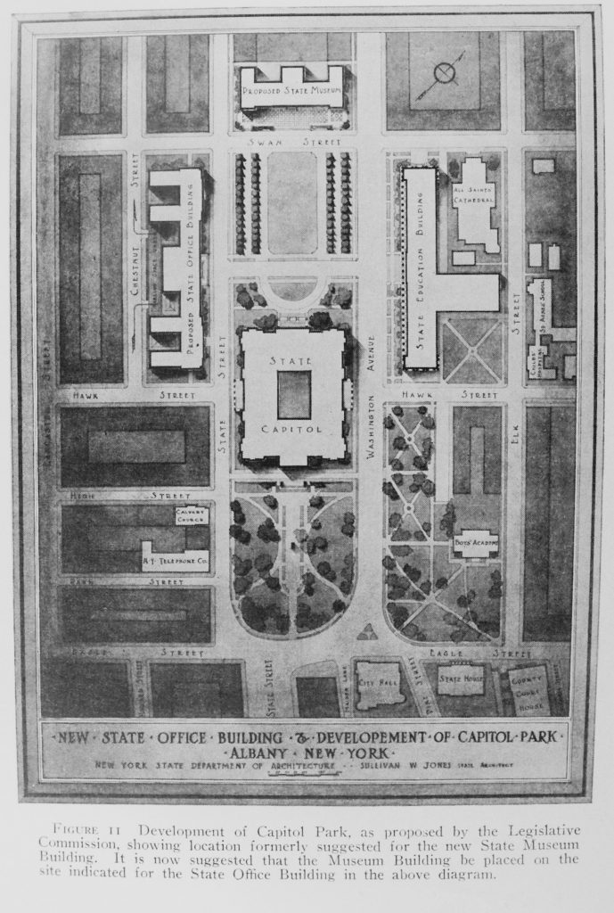 Aerial Plan for Capitol Park 1925