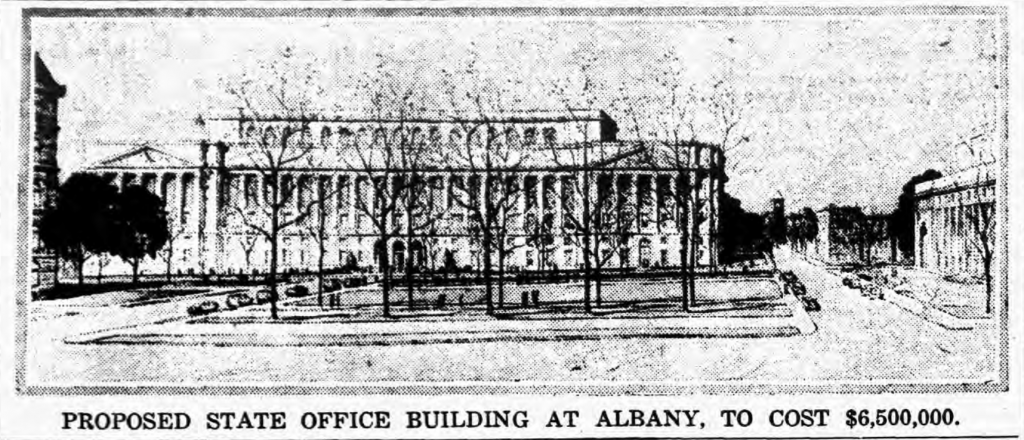 Proposed State Office Building, 1925
