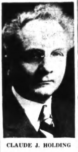 Claude J. Holding