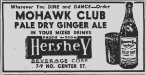 Mohawk Club Ginger Ale