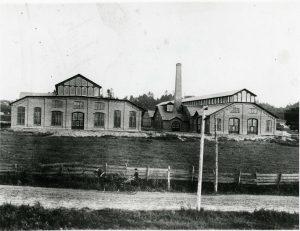 Two original buildings GE circa 1890