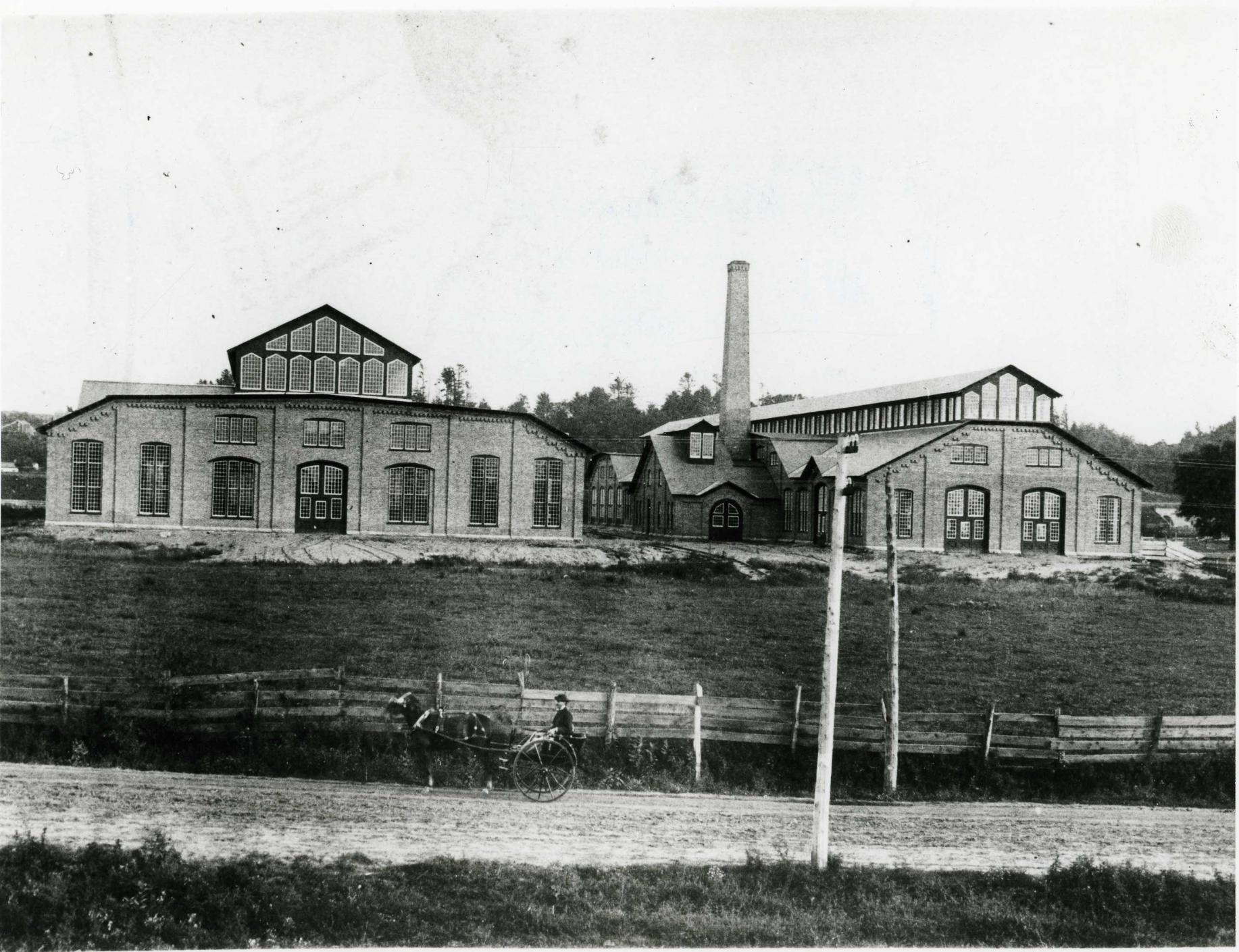 Two original buildings GE circa 1890