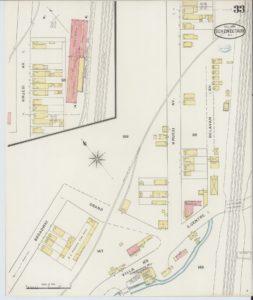 1894 Sanborn map of Kruesi Avenue