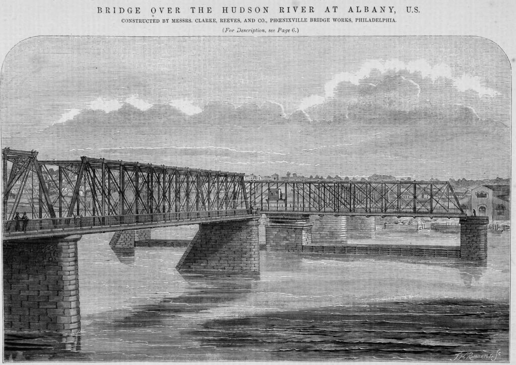 Maiden Lane Bridge with open draw