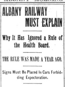 Albany Railway Must Explain