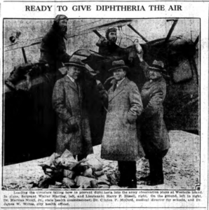 Ready to give Diphtheria the Air