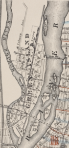 Green Island from 1881 Hopkins Map