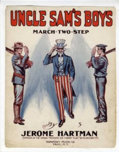 Jerome Hartman Sadie Koninsky Uncle Sam's Boys