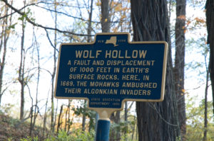 Wolf Hollow Historical Marker
