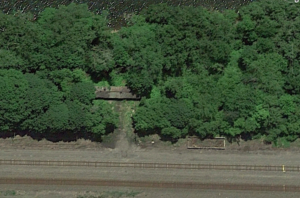 Remains at Hoffmans, from Google Earth