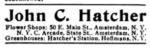 John C Hatcher ad