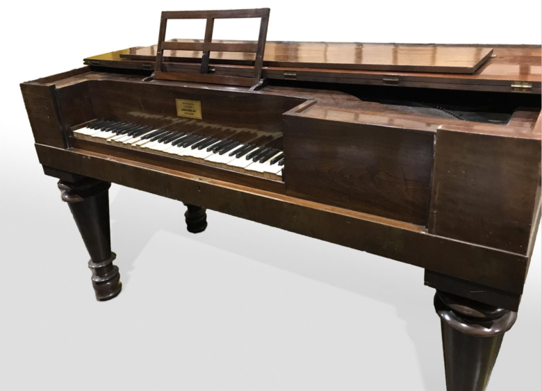 Meacham Piano, dated 1835