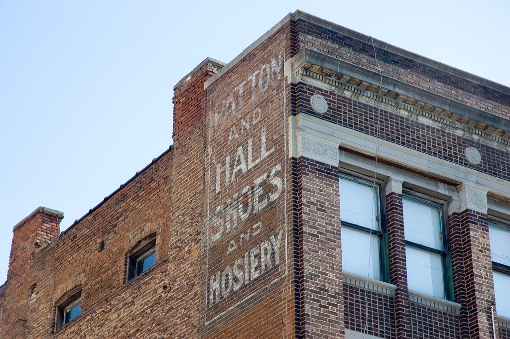 Patton and Hall ghost sign