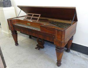F.P. Burns Piano 1848 Bennington Museum