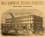 McCammon Piano Fortes How They Are Made illustration