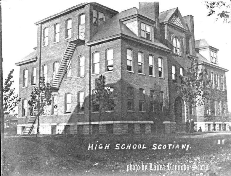 Scotia High School, later junior high school, later seventh grade