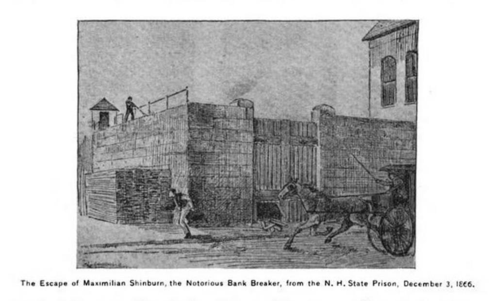 Escape of Maximilian Shinburn