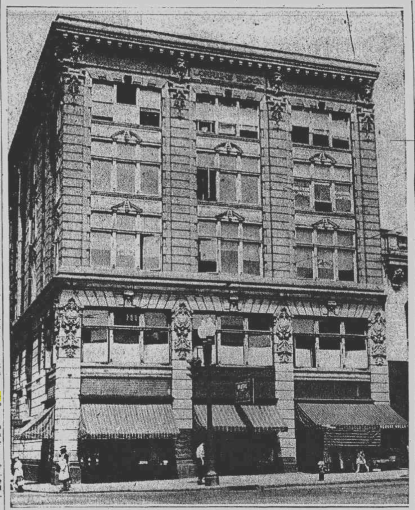 The Lorraine Block, 505 State Street, Schenectady, from 1901-1972