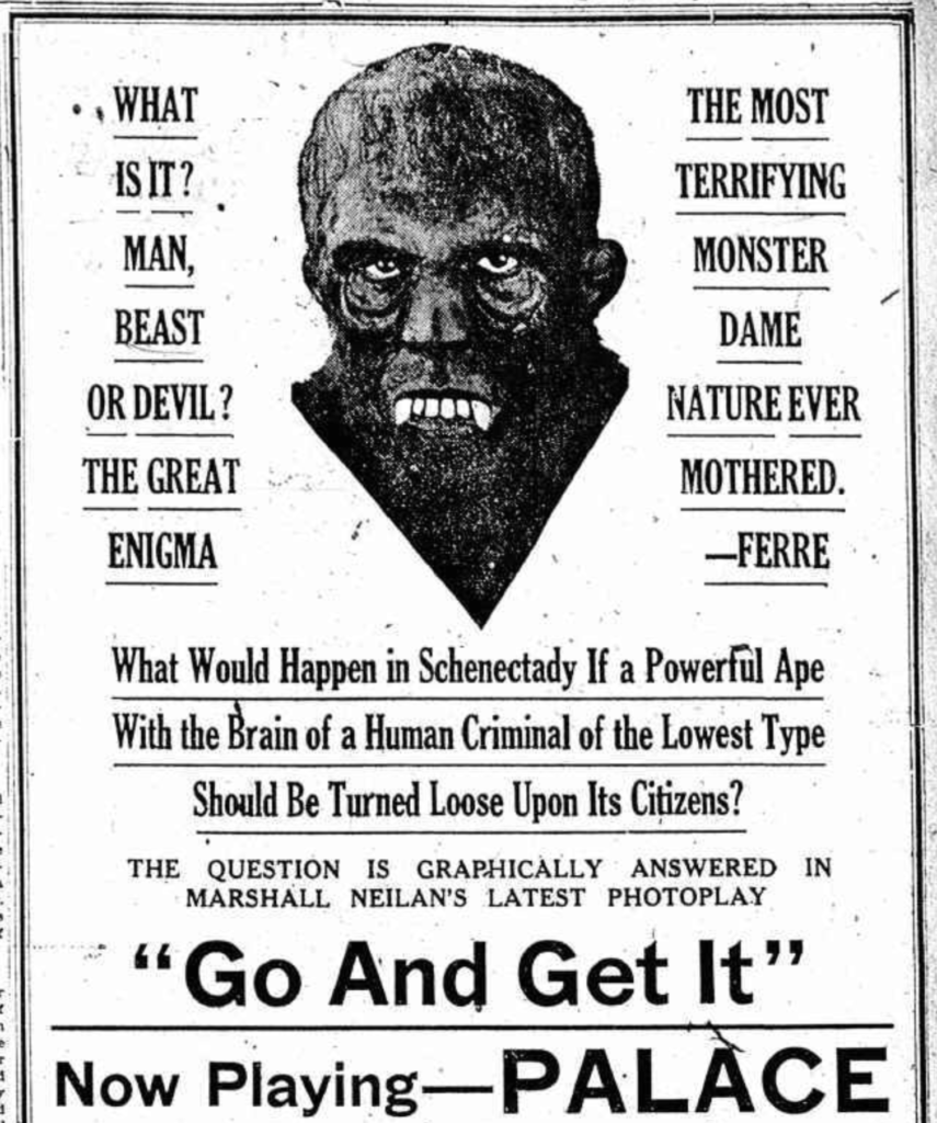 Man Beast or Devil Jan 31 1921