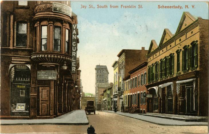 Van Curler Opera House Jay Street scene