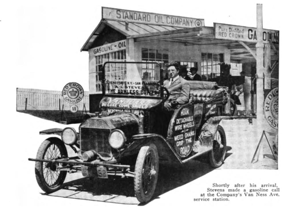 Al Stevens in Standard Oil Bulletin