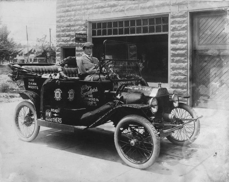 Albert Livingston Stevens in Ford