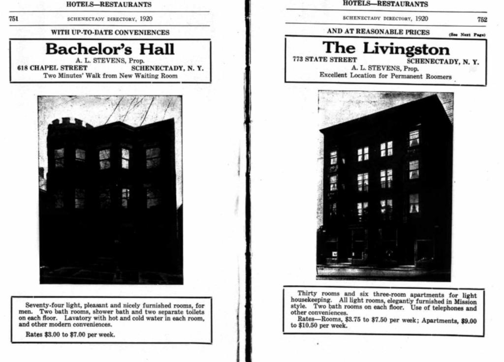 Bachelor's Hall and Livingston